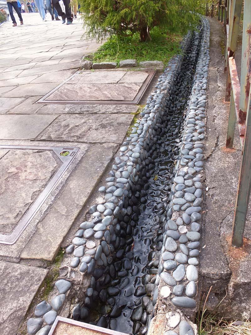グラバー園の水路