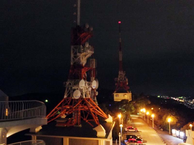 稲佐山の電波塔