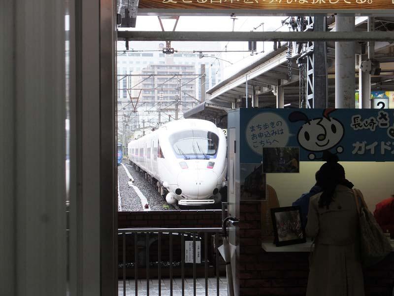 長崎駅の電車