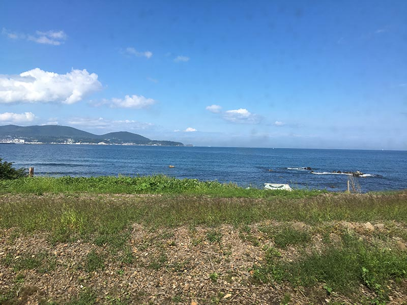 北海道の海