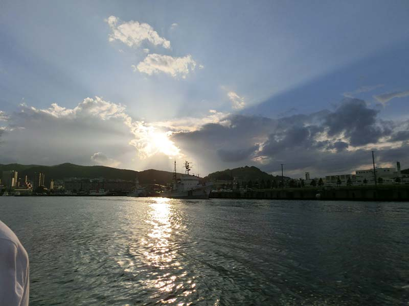 小樽港に戻る