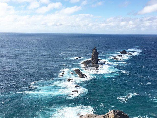 神威岬の絶景