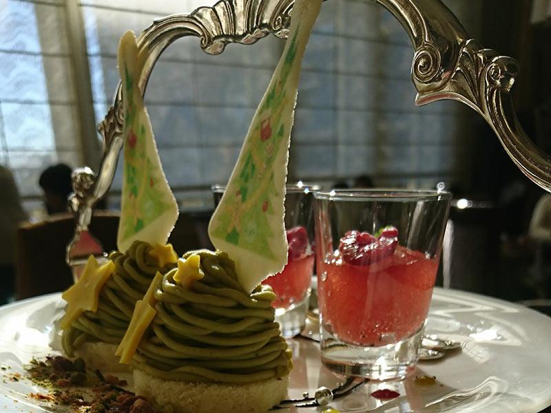 1段目_ケーキとゼリー