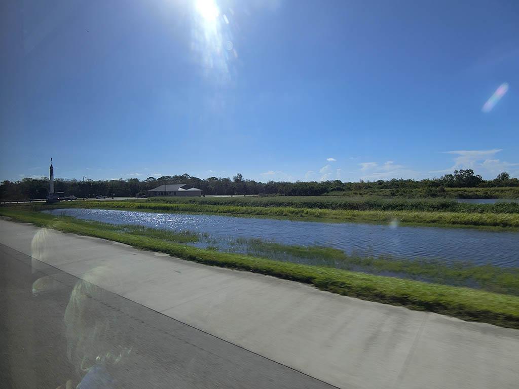 川もあります