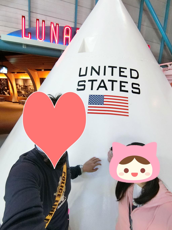 アメリカな展示