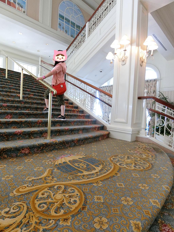 階段に上ってみた