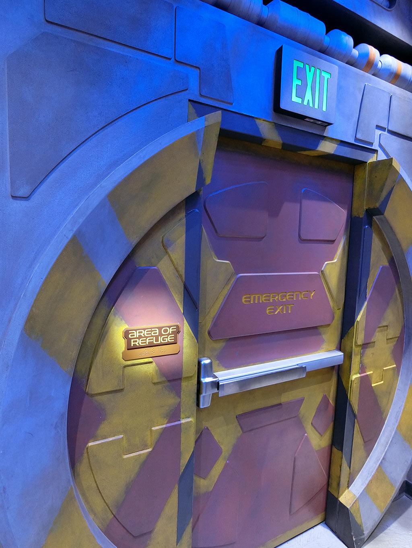 BB-8の部屋の入口