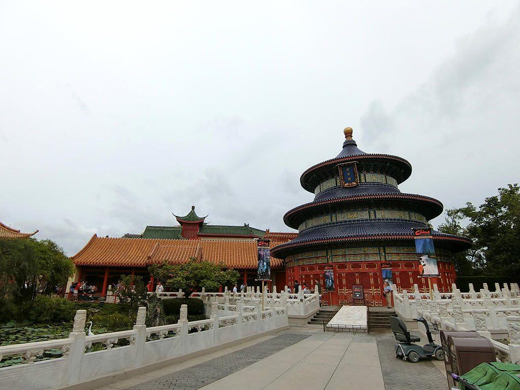中国館へ来ました