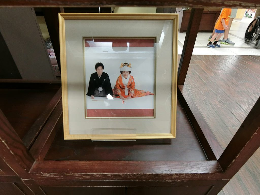 結婚写真(売り物なの?)